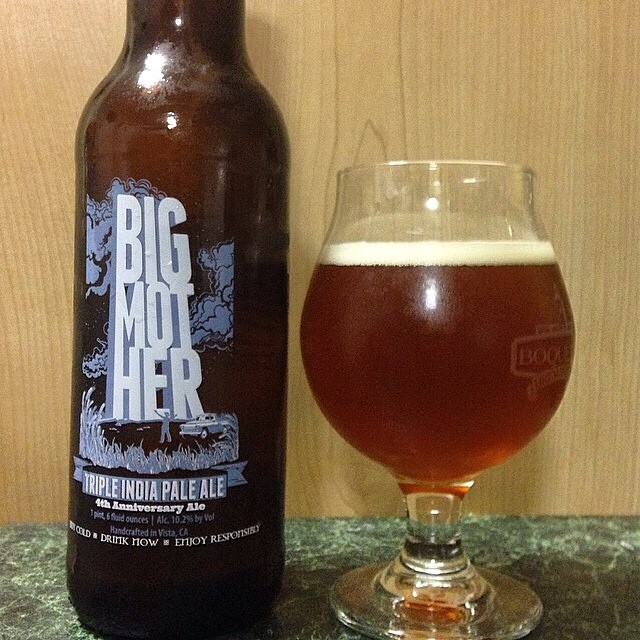 Big Mother Triple IPA vía @jsantiagomurphy en Instagram