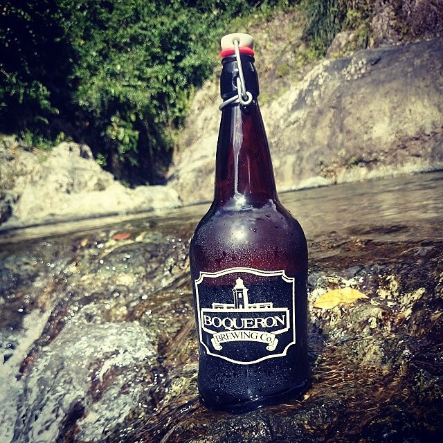 La Negra IPA de Boquerón Brewing vía @rdres en Instagram