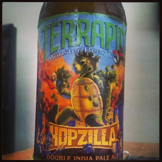 Terrapin Hopzilla Double IPA vía @adejesus80 en Instagram