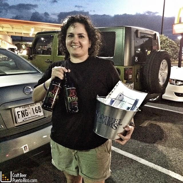 La ganadora del primer concurso Alma Bertoni