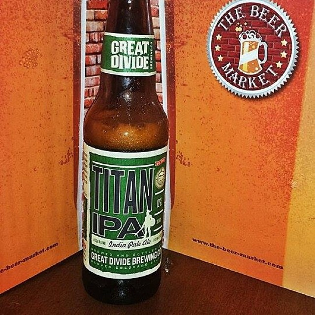 Great Divide Titan IPA vía Ingrid Torres en Facebook