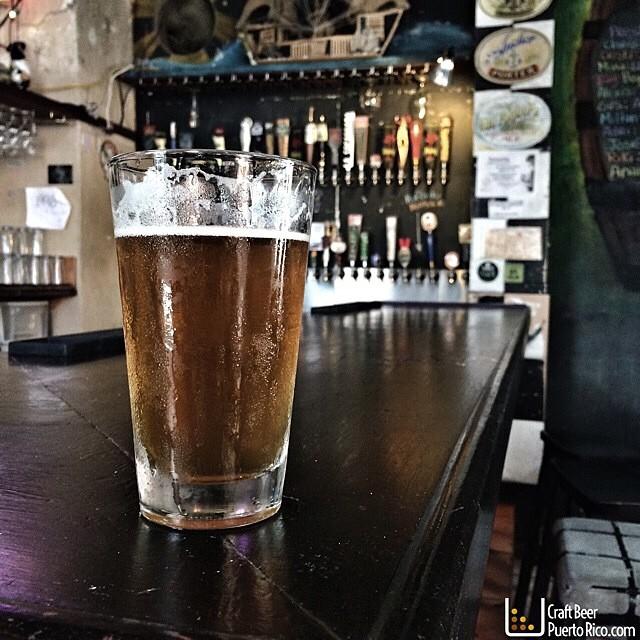 Summer IPA de Boquerón Brewing vía @manuhola en Instagram