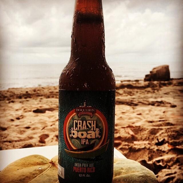 Crash Boat IPA de Boquerón Brewing vía @eljinete99 en Instagram