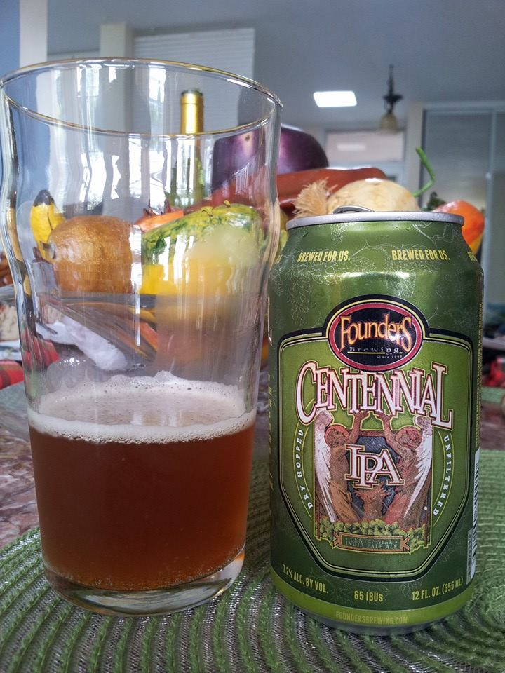 Founders Centennial IPA vía Edwin Avila en Facebook