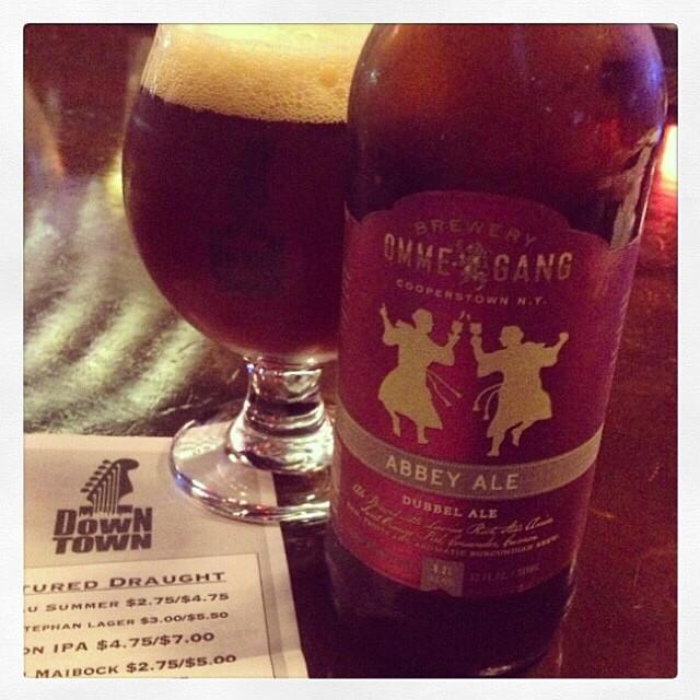 Ommegang Abbey Ale vía @thecraftbeergal en Instagram