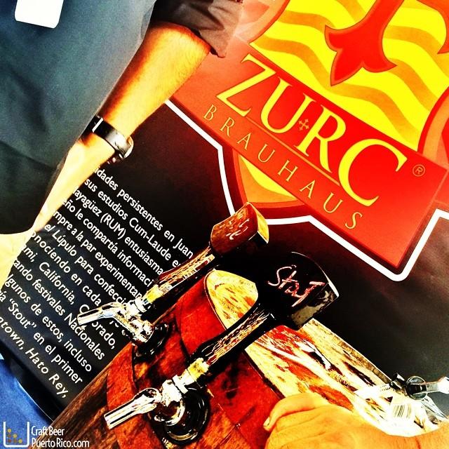 Cervecera Zurc en el Pizza & Beer Fest vía @manuhola en Instagram