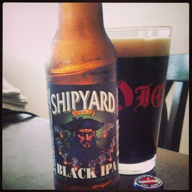 Shipyard Black IPA vía @adejesus80 en Instagram