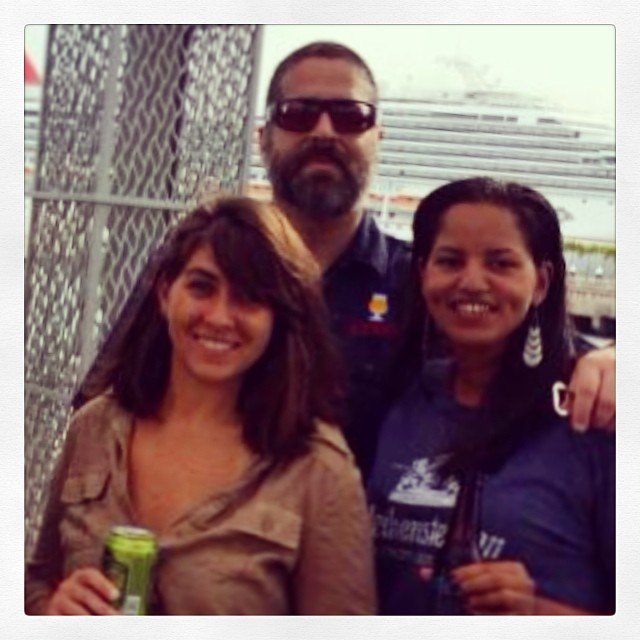 @justlissy y Craft Beer Distributors en el Pizza & Beer Fest vía Instagram