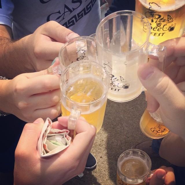 Pizza & Beer Fest vía @manebembele en Instagram
