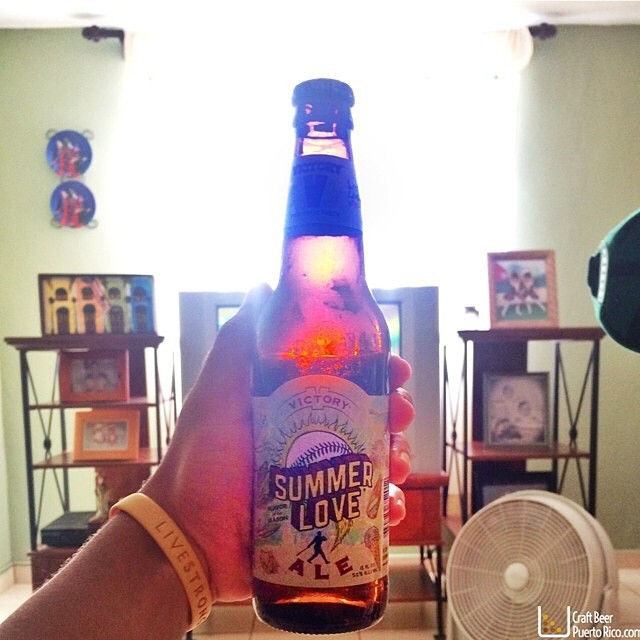 Victory Summer Love Ale vía @manuhola en Instagram