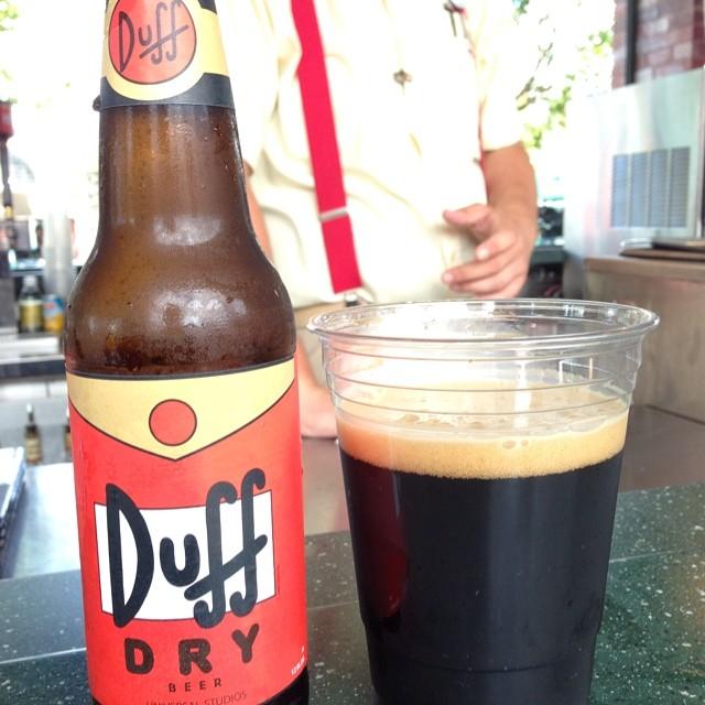 Duff Dry Stout en Universal vía @pablopr77 en Instagram