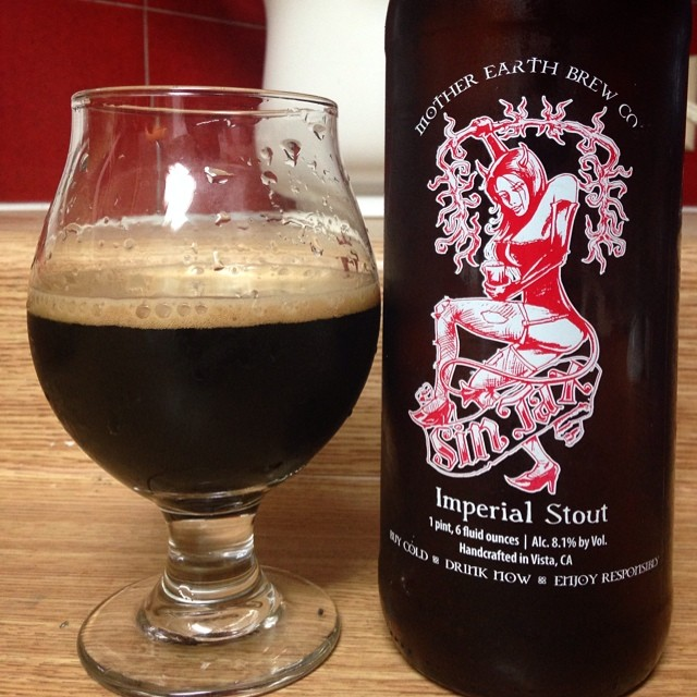 Mother Earth Brew Imperial Stout vía @jsantiagomurphy en Instagram