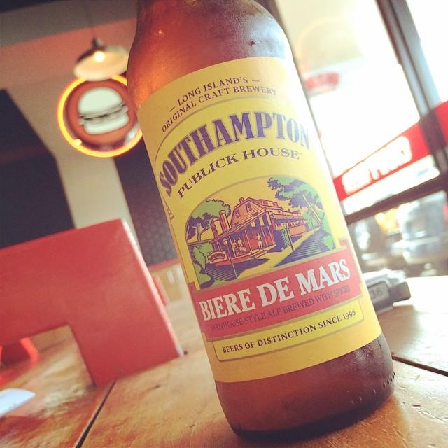Southampton Biere de Mars vía @izqrdo en Instagram