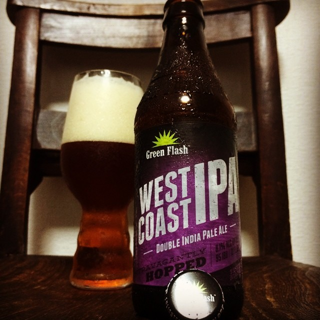 Green Flash West Coast IPA vía @510takuro510 en Instagram