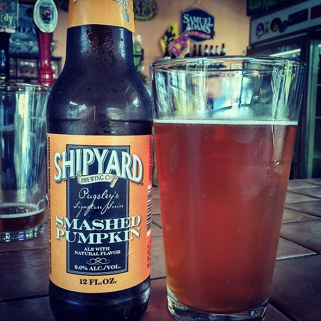 Shipyard Smashed Pumpkin vía @cracker8110 en Instagram