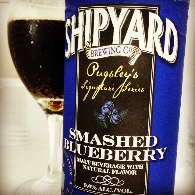 Shipyard Smashed Blueberry vía @makiromusic en Instagram