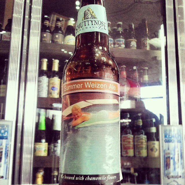 Smuttynose Summer Weizen Ale vía @valdorm en Instagram