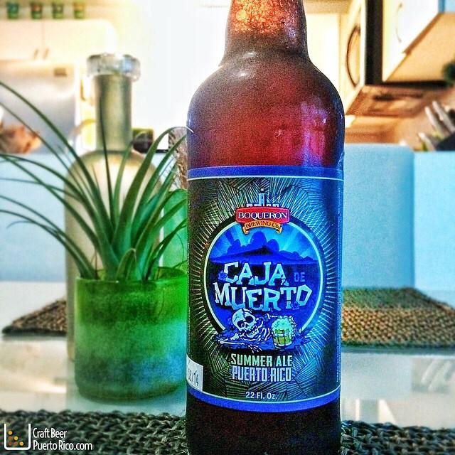 Caja de Muerto Summer Ale de Boquerón Brewing vía @manuhola en Instagram