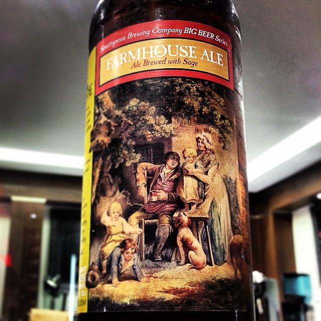 Smuttynose Farmhouse Ale vía @shell65insfanteria en Instagram