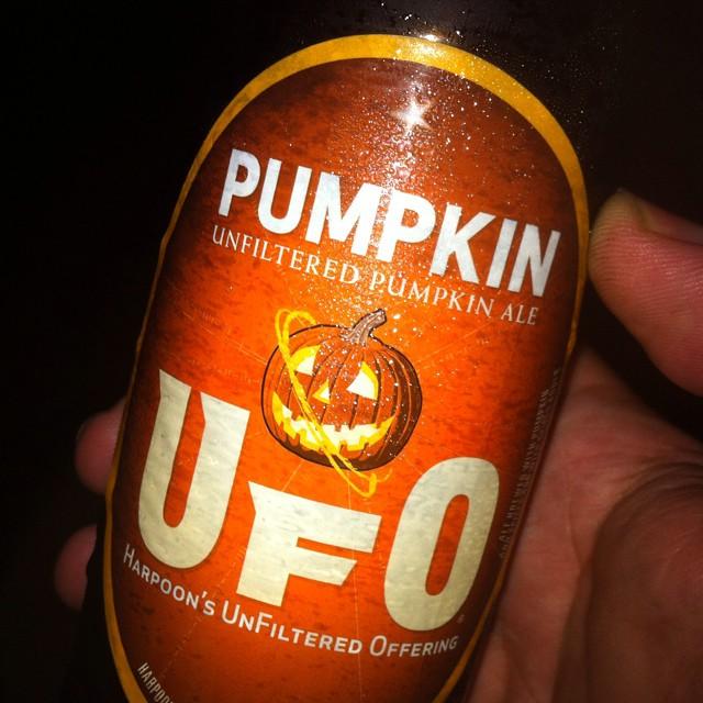 UFO Pumpkin vía @apaman8 en Instagram