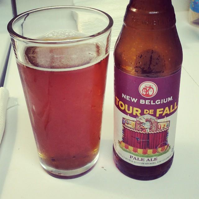New Belgium Tour de Fall Pale Ale vía @mauricioh77 en Instagram