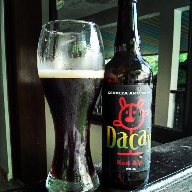 Dacay Red Ale vía @cracker8110 en Instagram