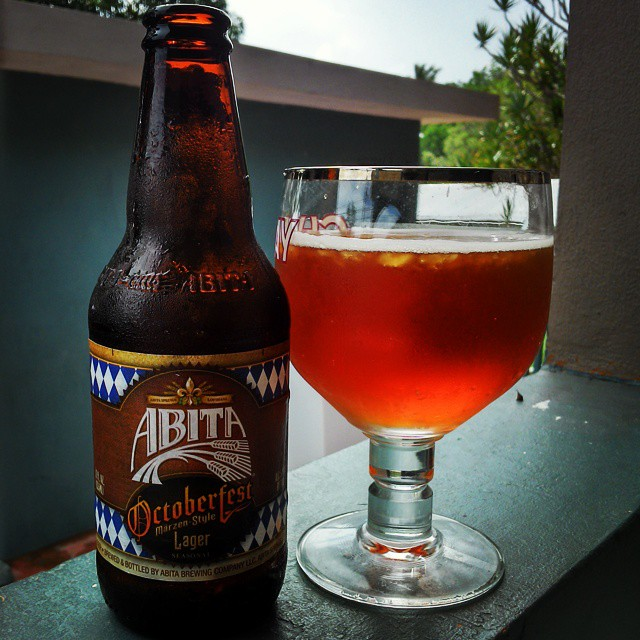 Abita Octoberfest vía @cracker8110 en Instagram