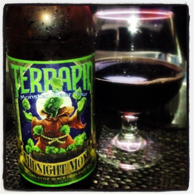 Terrapin Midnight Monk Black IPA vía @thecraftbeergal en Instagram