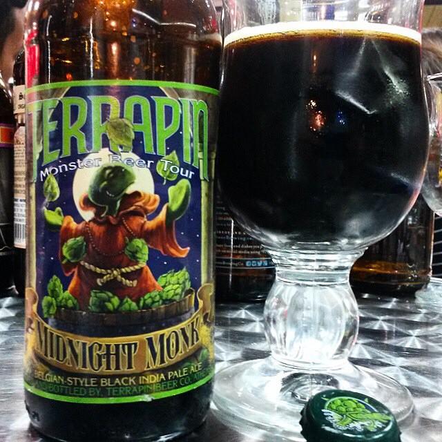 Terrapin Midnight Monk Belgian Style Black IPA vía @valdorm en Instagram