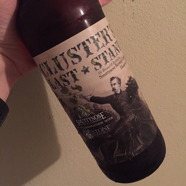 Smuttynose/Stone Clusters Last Stand IPA
