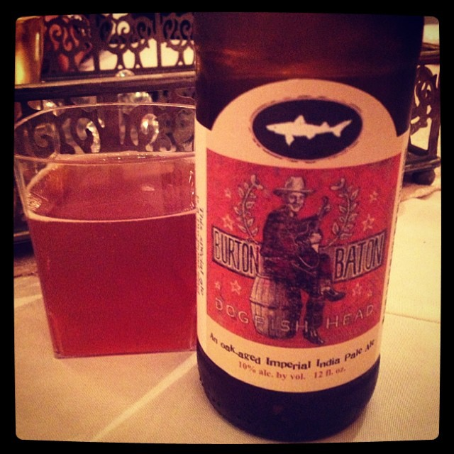 Dogfish Head Burton Baton Double IPA