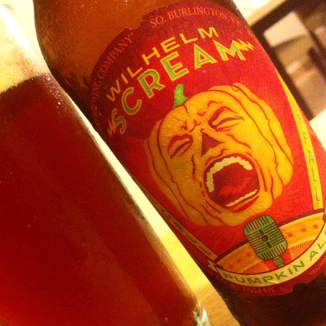 Magic Hat Wilhelm Scream Pumpkin Ale vía @apaman8 en Instagram