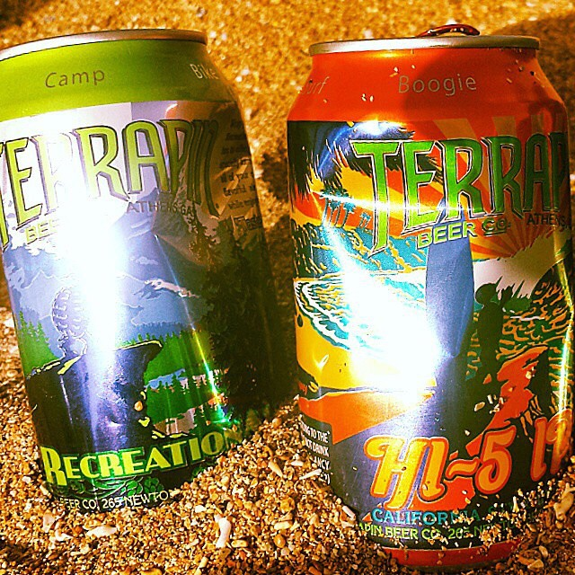 Terrapin Recreation Ale y HI-5 IPA vía @lebronjavier