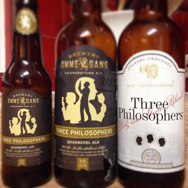 Ommegang Three Philosophers vía @j_sanmurphy en Instagram