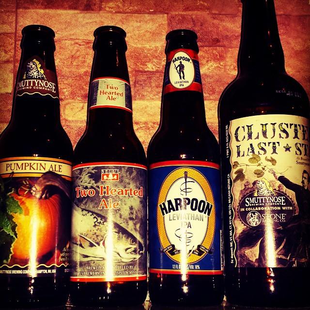 Selección de cervezas de @paez_ver en Instagram