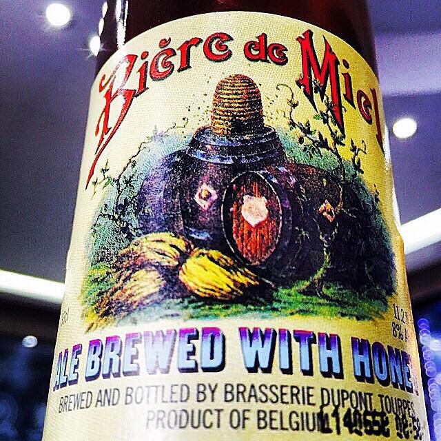 Dupont Biere de Miel organic Honey Saison vía @shell65infanteria en Instagram