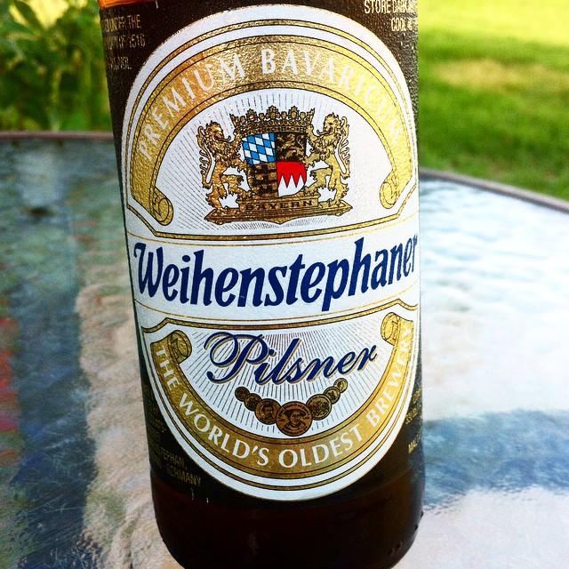 Weihenstephaner Pilsner vía @apaman8 en Instagram