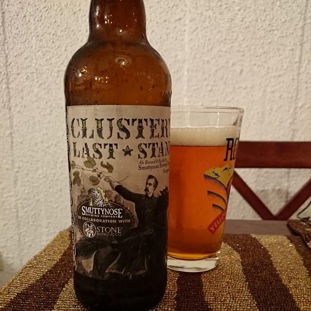 Smuttynose/Stone Clusters Last Stand IPA vía @adejesus80 en Instagram