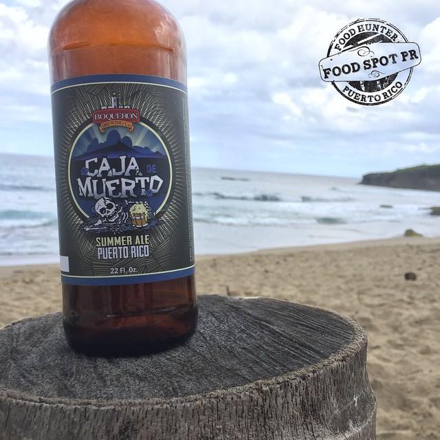 Caja de Muerto Summer Ale vía @foodspotpr en Instagram