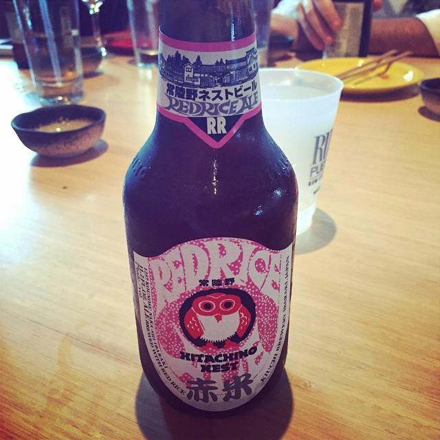 Red Rice Beer vía @mauricioh77 en Instagram