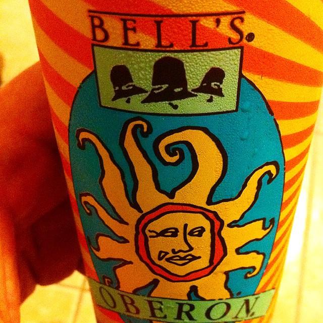 Bell's Oberon vía @apaman8 en Instagram