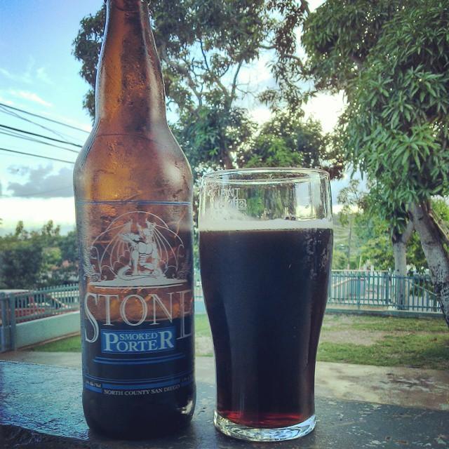 Stone Smoked Porter vía @cracker8110