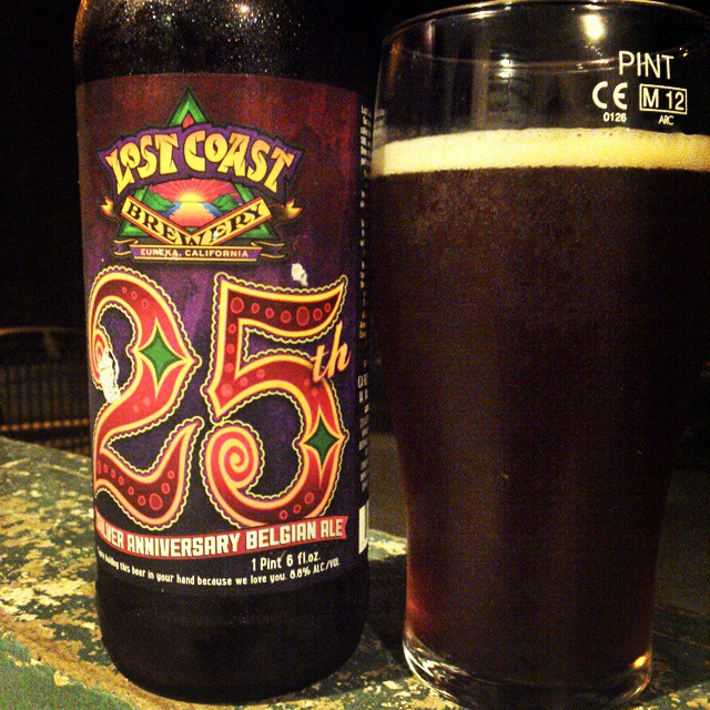Lost Coast 25th Anniversary Tripel vía @cracker8110 en Instagram