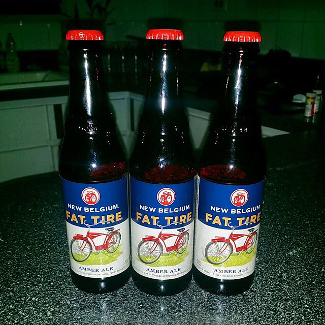 Fat Tire de New Belgium vía @budmanrm en Instagram