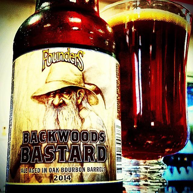 Founders Backwoods Bastard vía @valdorm en Instagram