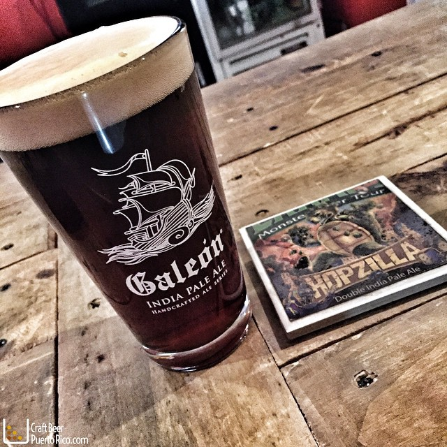 Galeón Scotish Ale de Barlovento Brewing