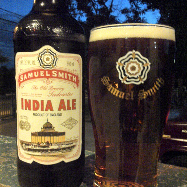 Samuel Smith India Ale vía @cracker8110 en Instagram
