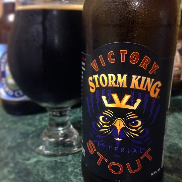 Victory Storm King Imperial Stout vía @j_sanmurphy en Instagram