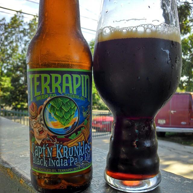 Terrapin Capt'n Krunkles Black IPA vía @cracker8110 en Instagram