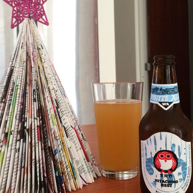 Hitachino Nest White Ale vía @apaman8 en Instagram